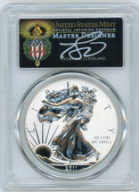 2011-P Rev Proof ASE PR70 PCGS 25th Anniv First Strike T. Cleveland Torch