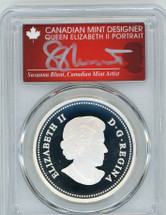 2013 Canada Silver $20 The Bald Eagle - Protecting Her Nest PR70 PCGS S. Blunt