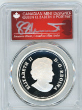 2013 Canada Silver $20 The Bald Eagle - Returning from the Hunt PR70 PCGS S. Blunt