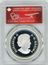 2013 Canada Silver $20 The Bald Eagle - Lifelong Mates PR70 PCGS S. Blunt