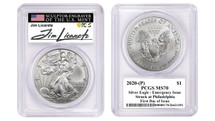 2020-(P) ASE PCGS MS70 Emergency Issue Struck at Philadelphia FDOI Jim Licaretz