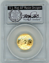 2020-W $5 Proof Gold Basketball Hall Of Fame PR70 PCGS FDOI T Cleveland Wreath