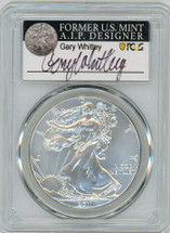 2011-W Burn ASE SP70 PCGS Gary Whitley