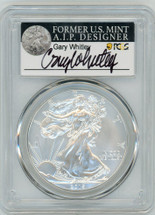 2015-W Burn ASE SP70 PCGS Gary Whitley