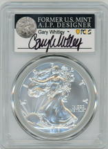 2017-W Burn ASE SP70 PCGS Gary Whitley