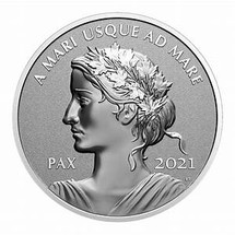 2021 Canada Lady Peace PAX Dollar Nation Silver Proof in OGP