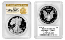 2020-W ASE V75 Privy PR70 PCGS FDOI T. Cleveland Art Deco *SOLD OUT AT THE MINT*