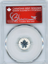2013 Canada $1 ML/Ag Rev Proof PR70 PCGS S. Blunt Queen label