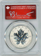2013 Canada $4 ML/Ag Rev Proof PR70 PCGS S. Blunt Queen label