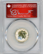 2014 Canada $2 ML/Ag Rev Proof PR70 PCGS S. Blunt Queen label