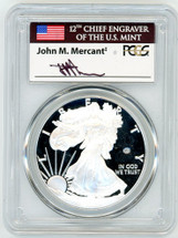 2020-W ASE V75 Privy PR70 PCGS First Strike flag Mercanti