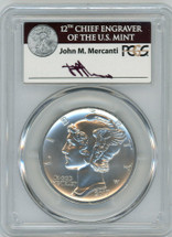 2017 $25 Palladium Eagle PCGS MS70 First Day of Issue MERCANTI *LOWEST POP Mercanti at 50*