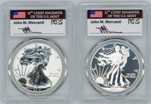 2013-W SP70/PR70 Enhanced Proof Set West Point Mint Mercanti Signed