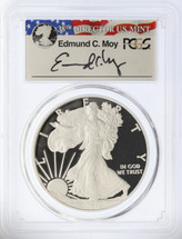 2011-W Proof ASE PR70DCAM PCGS Ed Moy signed label