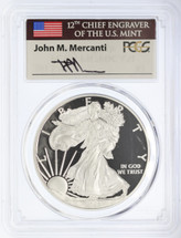2013-W Proof ASE PR70 PCGS Mercanti signed label