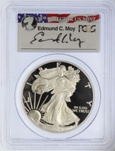 2004-W Proof ASE PR70DCAM PCGS Ed Moy signed  label
