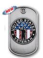 Veteran DogTag Lapel Pin