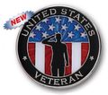United States Veteran Lapel Pin
