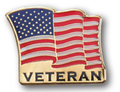 Veteran Flag Lapel Pin