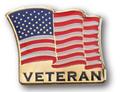 Veteran Flag Lapel Pin