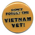 Don't Forget the Vietnam Veteran Lapel Pin