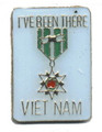 I've Been There VIETNAM Lapel Pin