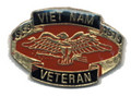 Vietnam Veteran Eagle Lapel Pin