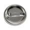 """Bike Silhouette Cycling Biking Lavender 1.5"""" Pinback Button"""