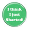 """I Think I Just Sharted! Fart Mint 1.5"""" Pinback Button"""