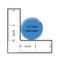 """He Who Smelt It Dealt It! Fart Aqua 1.5"""" Pinback Button"""