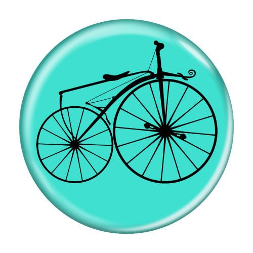 Bike Velocipede Boneshaker Cycling Biking Pinback Buttons