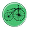 "Bike Velocipede Boneshaker Cycling Biking Mint 1.5"" Pinback Button"