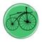 "Bike Velocipede Boneshaker Cycling Biking Sky Blue 1.5"" Pinback Button"