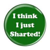 """I Think I Just Sharted! Fart Green 2.25"""" Refrigerator Bottle Opener Magnet"""