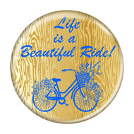 Life is a Beautiful Ride! Cycling Refrigerator Magnets