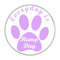"""Everyday is Hump Day Dog Paw Green 1.5"""" Pinback Button"""
