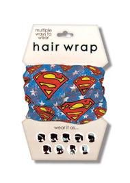 Superman Hair Wrap