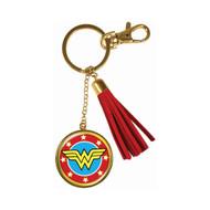 Wonder Woman Tassle Keychain