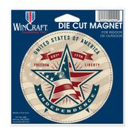 "USA Established 1776 Die Cut 4.5"" x 6"" Car Magnet"