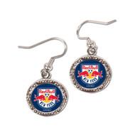 New York Red Bulls Tear Drop Earrings