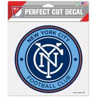"New York City FC 8""x8"" Logo Decal"