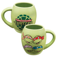 Teenage Mutant Ninja Turtles 18 oz Oval Ceramic Mug