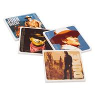 John Wayne 4 pc. Ceramic Coaster Set