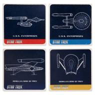 Star Trek 4 pc. Ceramic Coaster Set