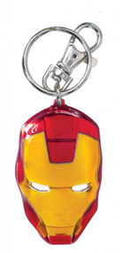 Iron Man Color Pewter Keychain