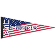"USA Strong 12""x30"" Premium Felt Pennant"