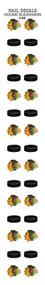 Chicago Blackhawks Nail Sticker Decals