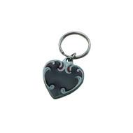 Heart Pewter Key Chain