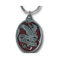 Live To Ride Ride to Love Pewter Keychain