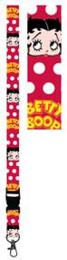 Bettie Boop Polka Dots Contemporary Lanyard